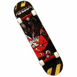 Punisher Skateboards Teddy 31 Double Kick Tail Concave Deck