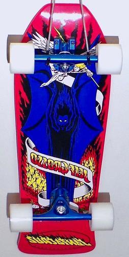Santa Cruz Skateboards Red Jeff Grosso Demon Blue Old School