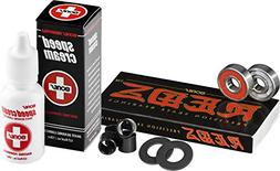 Bones Bearings Reds with Bearing Spacers, Axle Washers Speed