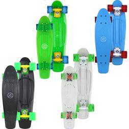 Stuf Retro Skateboard Boards Miniboard Complete Flash Ocean