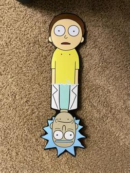 Rick and Morty Primitive Cruiser Skateboard Deck Size 10 New