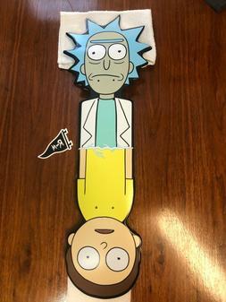 Ricky & Morty x Primitive Skateboard CNC Collage Cruiser Dec