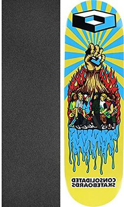 Consolidated Rise UP Skate Deck-8.75 w/Mob Grip