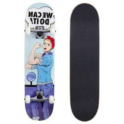 "Cal 7 Rosie 7.75"" Complete Popsicle Skateboard"