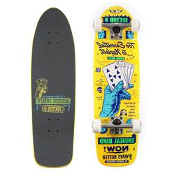 """Sector 9 Royal Flush Morning Breath 8.5"""" Yellow Complete Cru"""