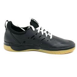 Nike SB Nyjah Huston Free Skate Shoes Black Gum Sole Skatebo