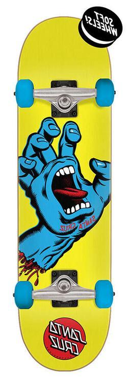 "Santa Cruz Screaming Hand Mini 7.75"" x 30"" Skateboard Comple"