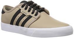 adidas Originals Unisex Seeley Running Shoe, Trace Khaki/Bla