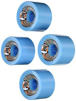 Sector 9 Top Self Nine Balls Skateboard Wheel, Blue, 74mm 78