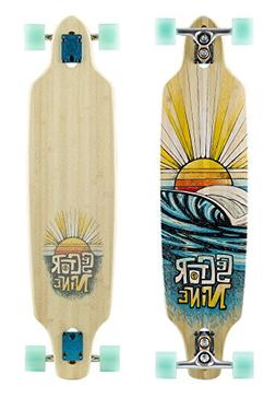 Sector 9 Sentinel 16 Bamboo Longboard Skateboard Complete -