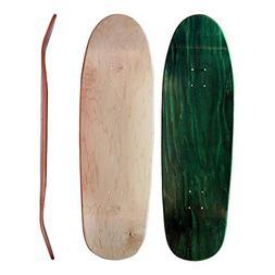 """Skateboard Collective 9.4"""" Shaped Blank Cruiser Skateboard D"""