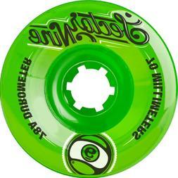 Sector 9 Top Shelf Nine Balls Skateboard Wheel, Green, 70mm