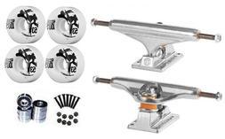 "Independent Silver 139mm Truck 8.0"" Package Skateboard Bones"