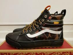 Vans Sk8-Hi MTE 2.0 DX Black/Camo Waterproof leather Boots f