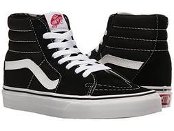 Vans Sk8-Hi Skate Shoe  US Women / 12 D US Men, Black/Black/