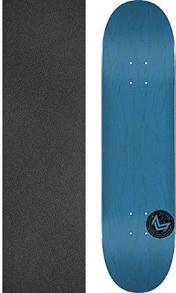 Mini Logo Skate Deck 242/K-20-8.0 Chevron Stamp Blue w/Mob G