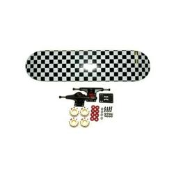MOOSE Skateboard CHECKERED Complete Blank 7.75 DEAL!