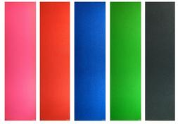 """Skateboard Colored Grip Tape 9"""" x 33"""" Multiple Colors to Cho"""
