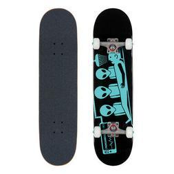 Alien Workshop Skateboard Complete Abduction Black/Teal 7.75