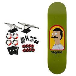 "Habitat Skateboard Complete Bobs Burgers LRG 8.25"""