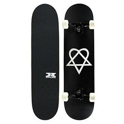 KPC Pro Skateboard Complete, Heartagram