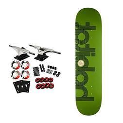 "Habitat Skateboard Complete Ellipse Green 7.75"""