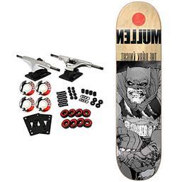 Almost Skateboard Complete FM Grey Knight Batman Mullen 7.75