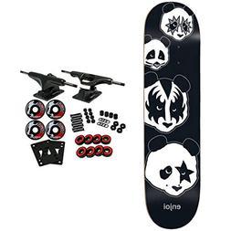 "Enjoi Skateboard Complete Kiss Logo 8.0"""