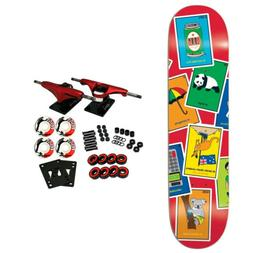"Enjoi Skateboard Complete La Loteria Pilz 8.0"""