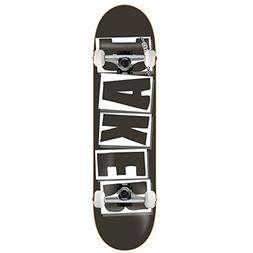 """Baker Skateboard Complete Logo Black/White 8.25"""" Raw Trucks"""