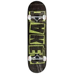 "Baker Skateboard Complete Reynolds Brand Name Chalk 7.75"" Ra"
