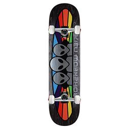 "Alien Workshop Skateboard Complete Spetrum Foil 8.0"" Raw Tru"