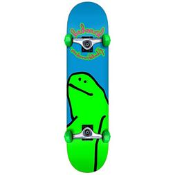 "Krooked Skateboard Complete Team Schmoo Blue 7.38"""