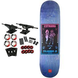 CHOCOLATE Skateboard Complete TERSHY BLACK MAGIC 8.5