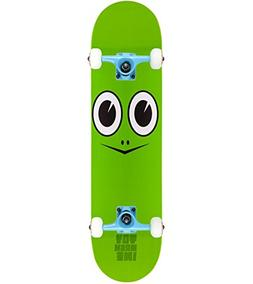 "TOY MACHINE Skateboard Complete TURTLE FACE 7.75""  Tensor As"