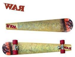 RAW Skateboard Deck - Cone Custom Joint Long Board