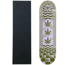 "Darkstar Skateboard Deck Mirage Army Green 8.0"" With Grip"