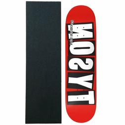 "Baker Skateboard Deck Tyson Peterson Logo 8.25"" with Grip"