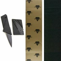 "Black Diamond Skateboard Grip Tape Sheet 9"" x 33"" With Gript"