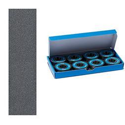 CCS Premium Skateboard/Longboard Blue Steel Bearings ABEC 7