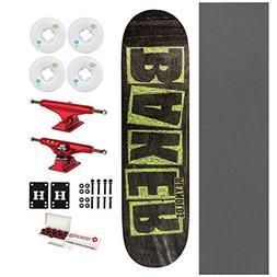 """Baker Skateboard Reynolds Brand Name Chalk 7.75"""" with Indepe"""