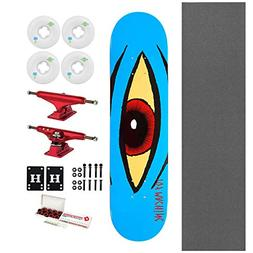 "Toy Machine Skateboard Sect Eye Blue 7.875"" + Indy Trucks, R"