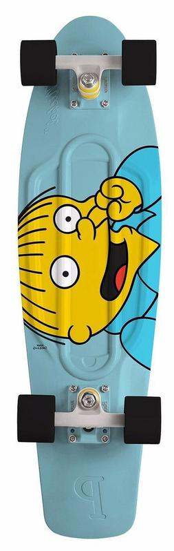 "Penny Skateboard The Simpsons Ralph 27"" Nickel Plastic Compl"