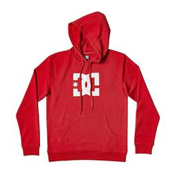 DC Skateboard Sweatshirt Star Pullover Red