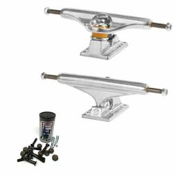 Independent Skateboard Trucks 215 Silver Stage 11 with Thund