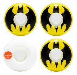 Almost Skateboard Wheels 53mm Batman Logo Yellow/Black/White