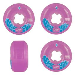 Ricta Skateboard Wheels 53mm Super Crystals 99A Purple