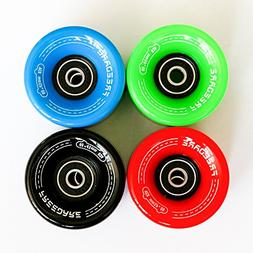 FREEDARE Skateboard Wheels 60mm 83a with Bearings and Spacer