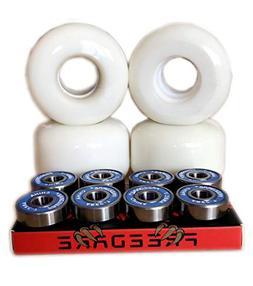 FREEDARE Skateboard Wheels with Bearings 54MM
