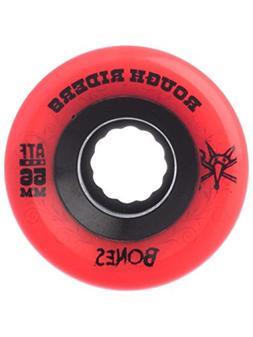 BONES Skateboard Wheels ATF ROUGH RIDERS RED 59MM